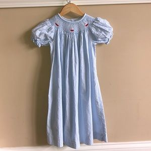 149a6fcc3 Little English Smocked Dress with Sailboats, 6.